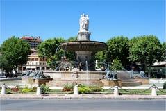 aixen france södra provence Arkivfoton