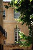 aixen france södra provence Arkivfoto
