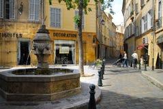 Aixen Provence Royaltyfri Foto