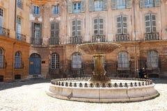 aixen-springbrunn provence Royaltyfri Fotografi