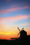 Aixerrota mill in Getxo at sunset Royalty Free Stock Photo