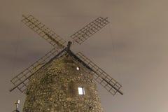 Aixerrota-Windmühle in Getxo, Baskenland, Spanien lizenzfreie stockbilder