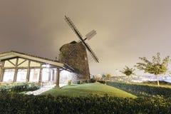 Aixerrota windmill in Getxo, Basque Country, Spain. Stock Photos