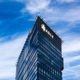 Aizkraukles bank, Riga, Lettland Arkivfoton