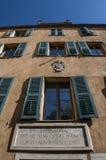Ajácio, citadela, Maison Bonaparte, Córsega, Corse du Sul, Córsega do sul, França, Europa fotografia de stock