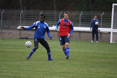 AJ Auxerre training soccer camp Royalty Free Stock Image