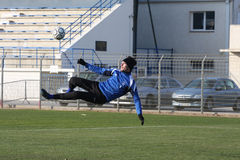 AJ Auxerre training soccer camp Stock Image