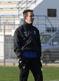 AJ Auxerre training soccer camp Royalty Free Stock Images