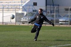 AJ Auxerre training soccer camp Stock Photos