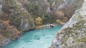 AJ Hackett Bungy i Queenstown royaltyfri bild