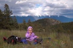 AJ op Enthousiaste Heuvels Stock Foto