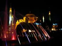 Aja索非亚在伊斯坦布尔 图库摄影