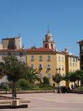 Ajaccio august 2012, city center. Ajaccio august 2012, city center square Royalty Free Stock Photo