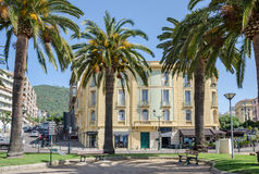 Ajaccio, Boulevard Albert 1er Stock Photos