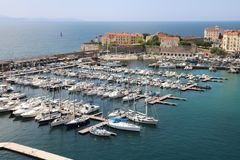 ajaccio Corsica France obraz royalty free