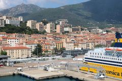 Ajaccio, Corsica, France Royalty Free Stock Images