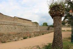 Ajaccio-Festung lizenzfreie stockbilder