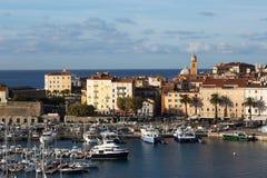 Ajaccio Harbour, Corsica Royalty Free Stock Photos