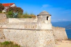 Ajaccio, La Citadelle Alte Stein-fortres Lizenzfreies Stockbild