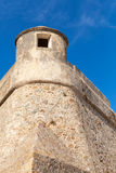 Ajaccio, La Citadelle. Old fortress, Corsica, France. Ajaccio, La Citadelle. Old stone fortress fragment. Corsica, France. Popular landmark Royalty Free Stock Image