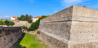 Ajaccio, La Citadelle. Old stone fortress. Corsica Royalty Free Stock Images
