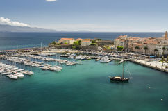 Ajaccio marina Stock Photography