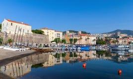 Ajaccio, old port, Corsica island, France Stock Image