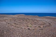 ajaches πέτρα κύκλων Los Στοκ Φωτογραφία