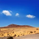 Ajaches mountain in Lanzarote Punta Papagayo Royalty Free Stock Photo