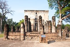 Ajana wat srishum sukhothai in thailand Stock Photos