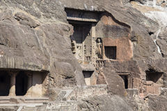 Ajanta cava perto de Aurangabad, estado do Maharashtra na Índia Foto de Stock Royalty Free