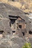 Ajanta cava perto de Aurangabad, estado do Maharashtra na Índia Fotos de Stock