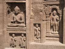 Ajanta Caves Royalty Free Stock Images