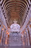 Ajanta ellora buddhist caves Royalty Free Stock Images
