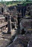 Ajanta grottor Royaltyfri Fotografi
