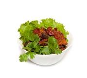 Ajapsandali - vegetal cozido Imagens de Stock