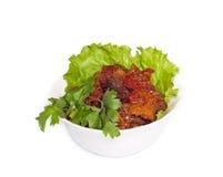 Ajapsandali - vegetal cozido Fotografia de Stock