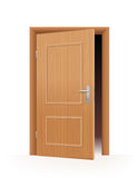 Ajar Door Stock Image