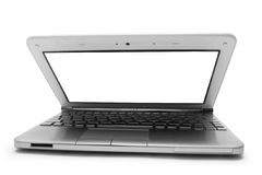 Ajar netbook Stock Photography