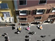 Ajardina la serie - calle en Italia foto de archivo