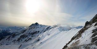 Ajardina a série - alpes Foto de Stock Royalty Free