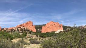 Ajardinando Mountain View Fotografia de Stock