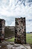Ajardinar arqueológico do local Foto de Stock Royalty Free