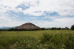 Ajardinar arqueológico do local Fotografia de Stock