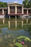 Ajardinar bonito do lago Fotos de Stock