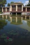 Ajardinar bonito do lago Imagem de Stock