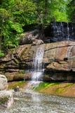 Ajardinar com cachoeira Foto de Stock Royalty Free