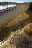Ajardinar da estrada de Colorado Imagens de Stock