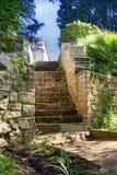 Ajardinar de pedra das escadas Fotografia de Stock Royalty Free