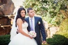 Ajardinar do casamento Imagem de Stock Royalty Free
